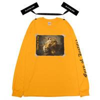 『BLACKBLOND』 ユースティティアロングスリーブ Tシャツ (Yellow)