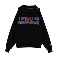 Motivestreet STRING POINT HOODIE (Black)