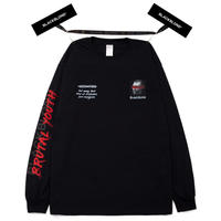 『BLACKBLOND』  ブルータルロングスリーブ Tシャツ (Black)