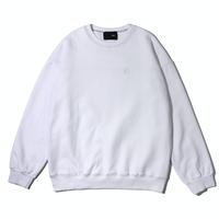 『 BY:L 』    カラージッパースウェットシャツ (White)