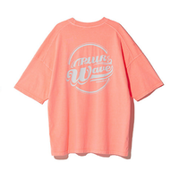 『Motivestreet』 クラウドピグメントSST  Tシャツ (NeonOrange)