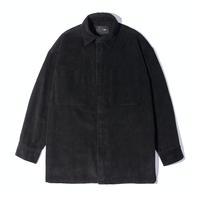 『 BY.L 』    コーデュロイオーバシャツジャケット (Black)