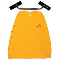 『BLACKBLOND X MAISON』  ロング スリーブ Tシャツ (Yellow)