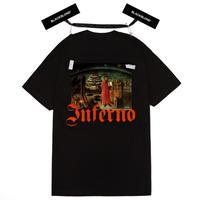 『BLACKBLOND』 インフェルノ半袖 Tシャツ (Black)