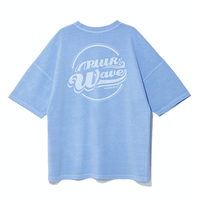 『Motivestreet』 クラウドピグメントSST  Tシャツ (Skyblue)