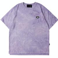 『 BY:L 』    エンブレムタイダイTシャツ (Purple)