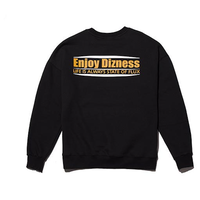 『Motivestreet』 DIZNESSスウェットシャツ (Black)