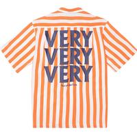 『Verynineflux』 ベリーショートスリーブシャツ (Orange)