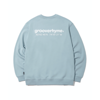 『grooverhyme』  NYC ロケーションスウェット (Light Blue)