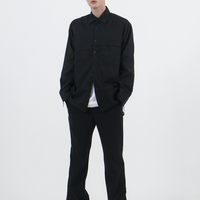 『 BY.L 』    ミニマルカバーシャツ (Black)