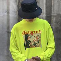 『BLACKBLOND』  マーベリックロングスリーブ Tシャツ (Neon)