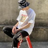 『BLACKBLOND』  マーベリック半袖 Tシャツ (White)