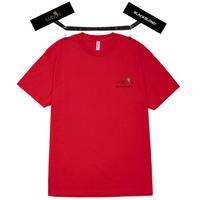 『BLACKBLOND X MAISON』  ショートスリーブ Tシャツ (Red)
