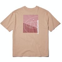 『Motivestreet』 バックコート  Tシャツ (Beige)