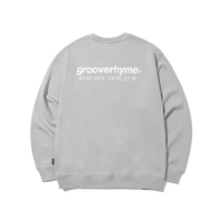 『grooverhyme』  NYC ロケーションスウェット (Light Grey)