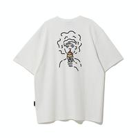 『Motivestreet』 アイスクリームボーイ半袖Tシャツ (White)