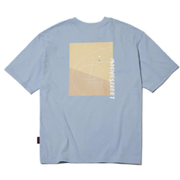 『Motivestreet』 バックコート  Tシャツ (Skyblue)