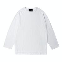 『 BY.L 』  ダブルネックオーバーサイズ Tシャツ (White)