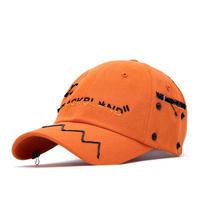 『BLACKBLOND』  クレージーグラフィティーキャップハロウィーンエディション (Orange)