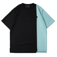 『 BY:L 』    カラー ブロックTシャツ (Black)