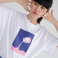 『Motivestreet』 ミルク  Tシャツ (White)