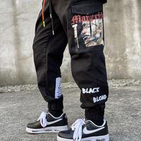 『BLACKBLOND』  マーベリックカーゴジョガーパンツ (Black)