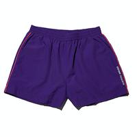 『Motivestreet』 カラーラインバギーズパンツ (Purple)