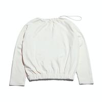 『Motivestreet』 プディングクロップスウェットシャツ (White)