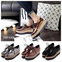 #Metallic Platform Shoes  メタリック プラットフォーム シューズ 全3色 厚底