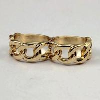 #Gold Chain Motif Ring ゴールドチェーンモチーフリング