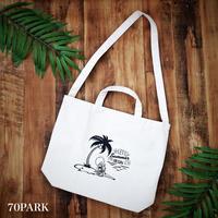 #Coconuts Bomber  2way Tote  Bag ココナッツボンバー 2way キャンバス トートバッグ
