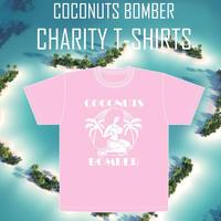 #Pray for Kyushu〜Coconuts Bomber  T-shirts  チャリティーTシャツ