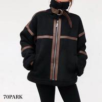 #Piping Mustang Jacket  パイピング ボア ムスタン ジャケット 全4色