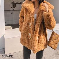 #Faux Fur  Duffle Coat フェイクファー ショート ダッフルコート 全4色