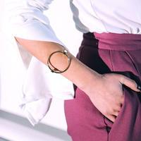 #Circle Bracelet サークル ブレスレット ゴールド バングル