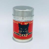 ナカムラマッチ レトロラベル缶マッチ・猫