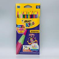 BIC サーカス色鉛筆 12色