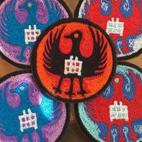 カラスマガリ 刺繍ワッペン