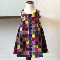 北欧ブランドプリント柄ワンピース Suvi bebe 1172059 Kids dress with lining Candy print