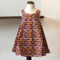 北欧ブランドプリント柄ワンピース Suvi bebe 1172055 Kids dress with lining Laine print