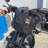 SUPPORT 81 Handle Bar Bag(BLACK)