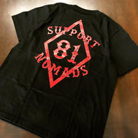 SUPPORT 81 T-shirts Tag Black