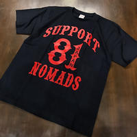 SUPPORT 81 T-shirts WP Black