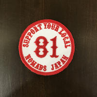 SUPPORT 81 PATCH(丸形)