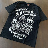 SUPPORT 81_SYL NOMADS JAPAN_SCUM BOY_Tee_Black