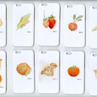 iphoneカバー iphoneケース 野菜くらぶ。5個セット iphone6 iphone6s 用カバー