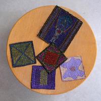 刺繍コースター(小) babaghuri