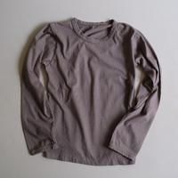 長袖Tシャツ(灰)|MAROBAYA