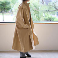 Brisbane moss long cape coat