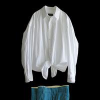 Regular collar Cotton shirt |SARDINE